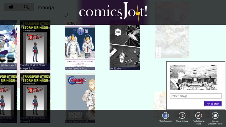 comics Jolt! screen shot 4