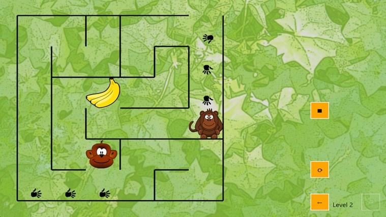 Monkey jungle maze app for windows in the windows store