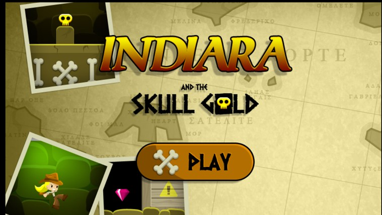 Indiara And The Skull Gold screen shot 0