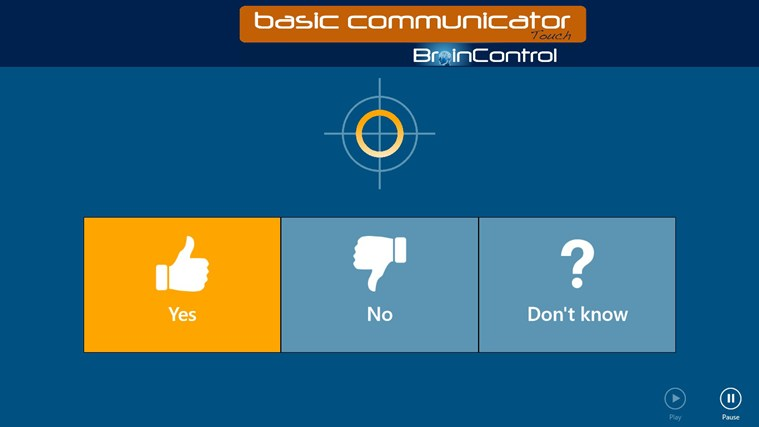 BrainControl - Basic Communicator Touch screen shot 4