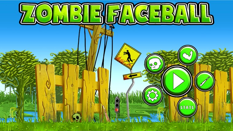 Zombie Faceball screen shot 0