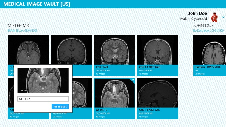Medical Image Vault screen shot 4