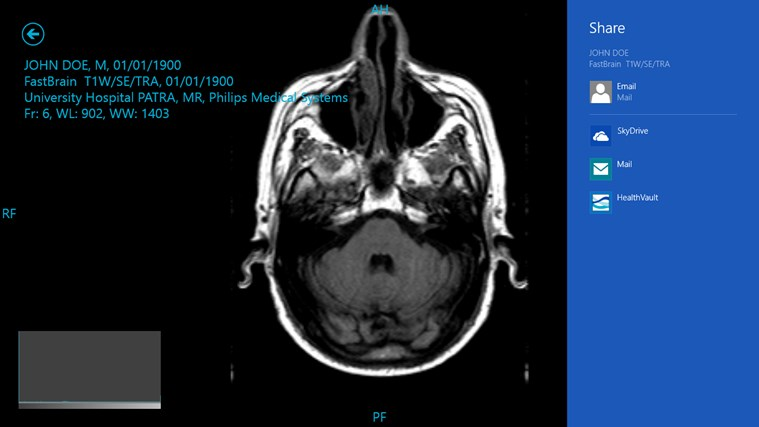 Medical Image Vault screen shot 6