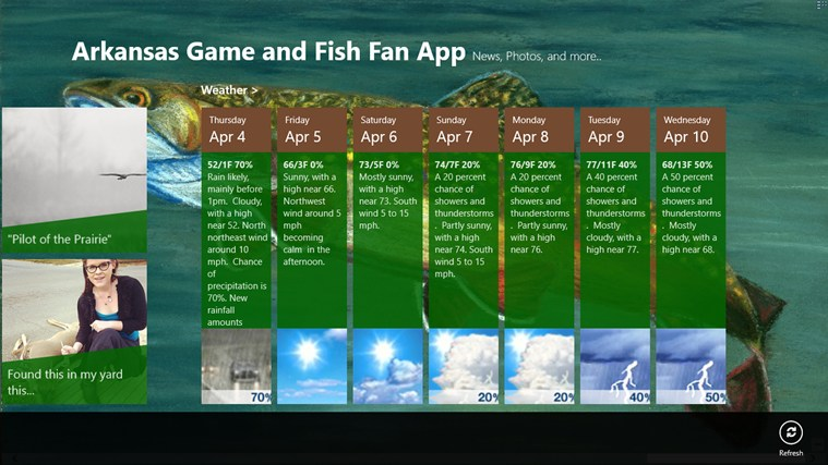 Arkansas Game and Fish Fan App screen shot 4