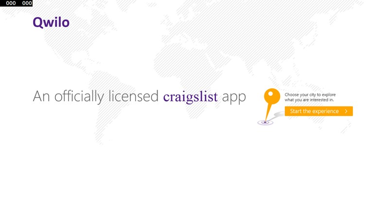 Qwilo: An Officially Licensed Craigslist App screen shot 0