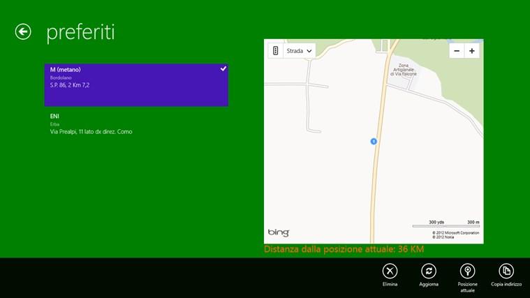 Distributori Metano in Lombardia cattura di schermata 2