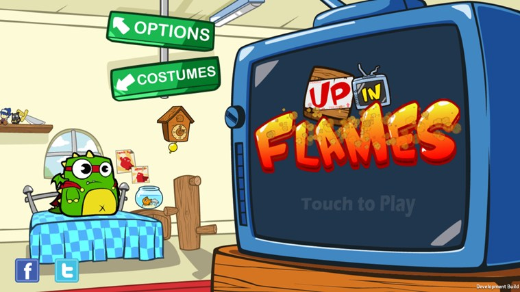 Up in Flames screen shot 0