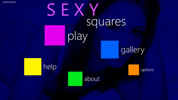 Sexy Squares screen shot 0