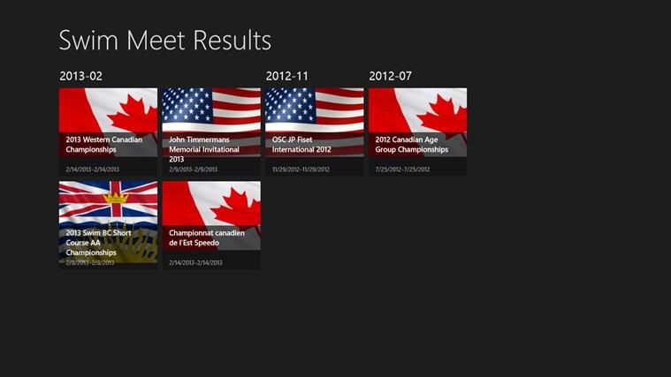 hy tek swimming meet results app
