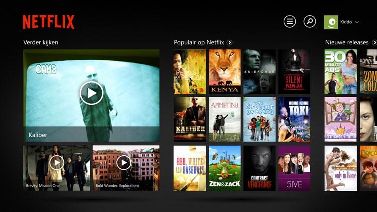 Netflix schermafbeelding 0