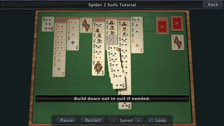 Solitaire 3D screen shot 0