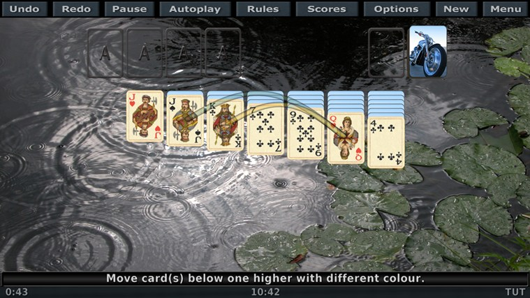 Solitaire 3D screen shot 4