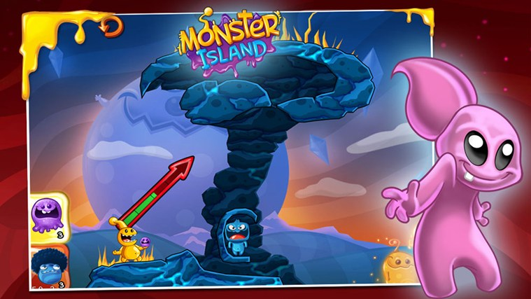 Monster Island screen shot 2
