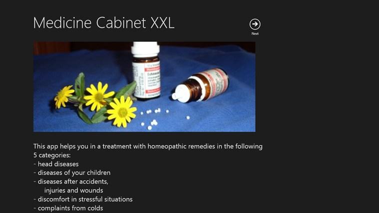 Medicine Cabinet XXL screenshot