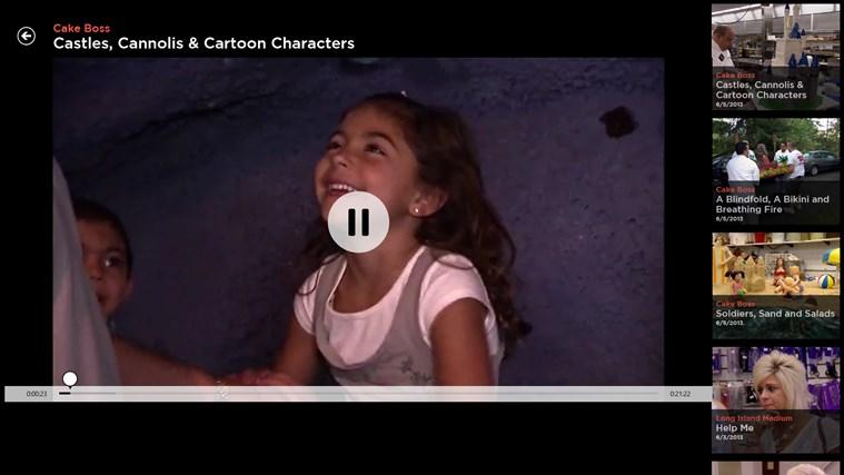 TLC screen shot 4
