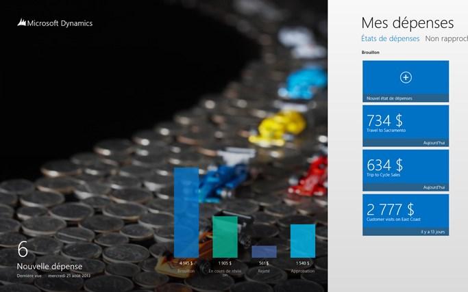 Dynamics AX 2012 Expenses capture d'écran 0