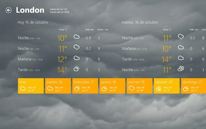Storm captura de pantalla 2