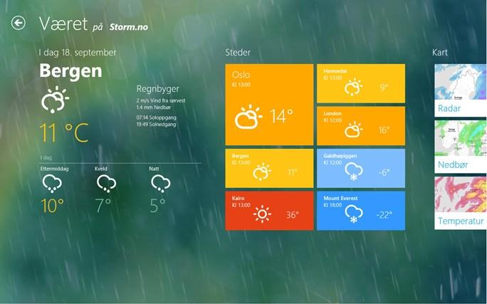 Storm skjermbilde 0
