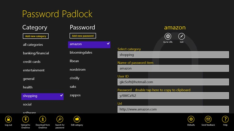 Password Padlock screen shot 0