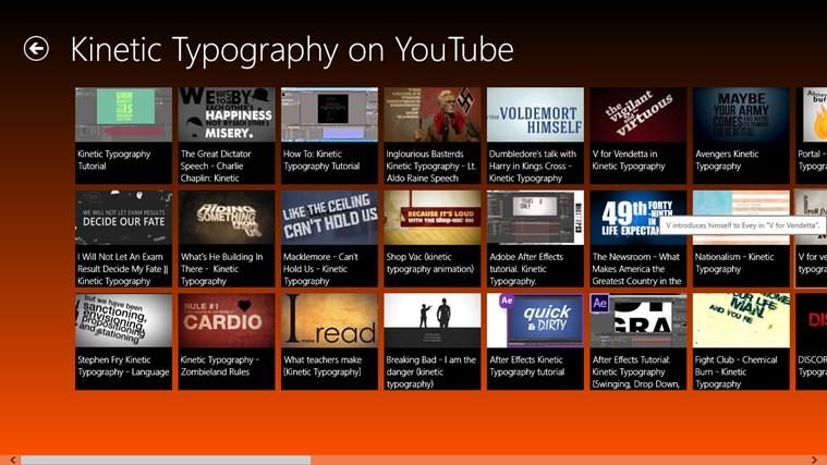 Kinetic Typography screen shot 2