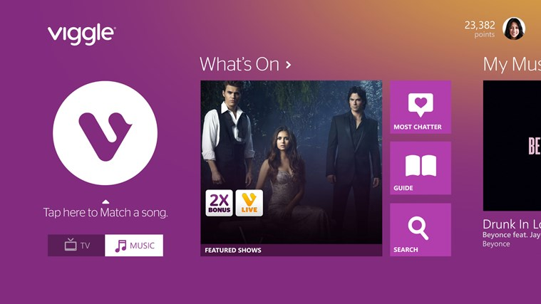 Viggle screen shot 0
