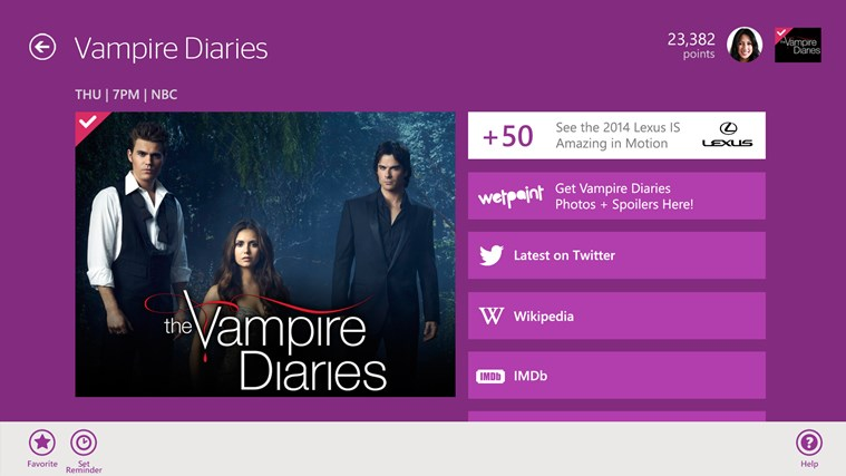 Viggle screen shot 2