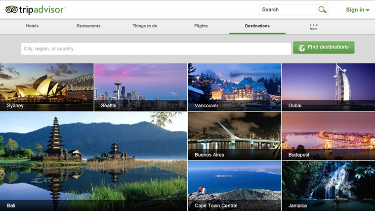 TripAdvisor Hotels Flights Restaurants screen shot 6