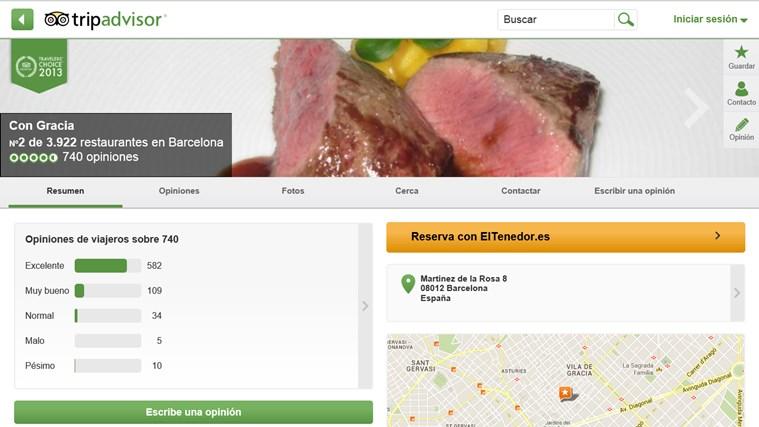 TripAdvisor Hotels Flights Restaurants captura de pantalla 4