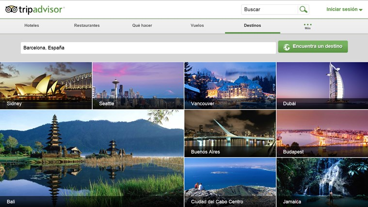 TripAdvisor Hotels Flights Restaurants captura de pantalla 6