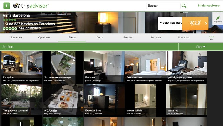 TripAdvisor Hotels Flights Restaurants captura de pantalla 8