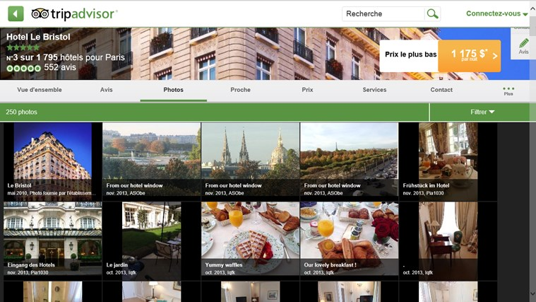 TripAdvisor Hotels Flights Restaurants capture d'écran 8