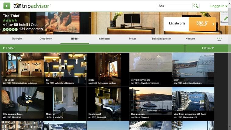 TripAdvisor Hotels Flights Restaurants-skärmbild 8