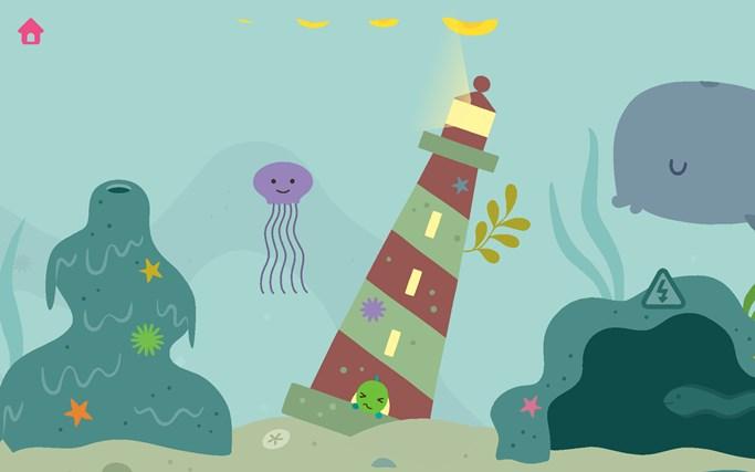 Ocean Swimmer screen shot 4