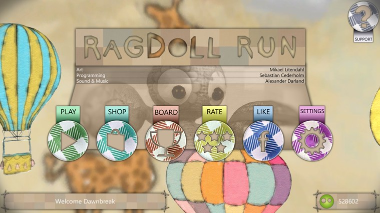 Ragdoll Run screen shot 0