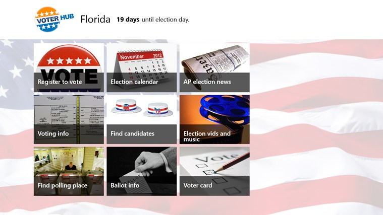 Voterhub screen shot 0