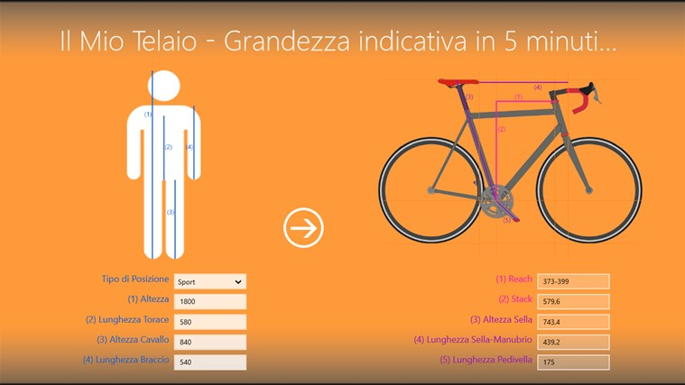 Bike Sizing Calculator Bike Size Calculator Bike Size