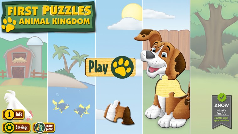 First Puzzles: Animal Kingdom cattura di schermata 0