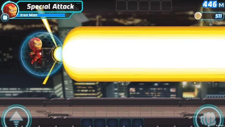 Marvel Run Jump Smash! screen shot 0