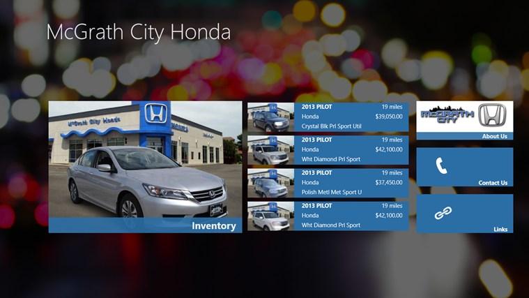 McGrath City Honda DealerApp app for Windows in the Windows Storemcgrath city