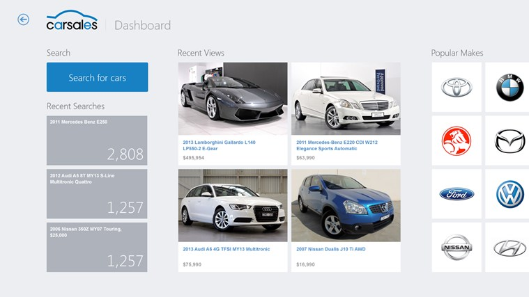 Carsales screen shot 0