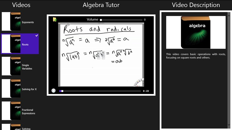 Algebra Tutor screenshot 0
