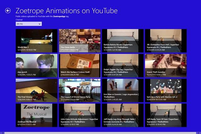 Zoetrope screen shot 6