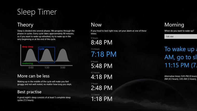 Sleep Timer screen shot 0
