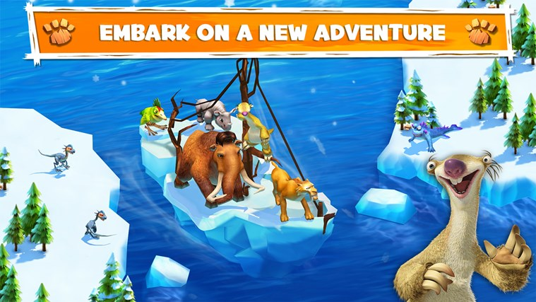 Ice Age Adventures screen shot 0
