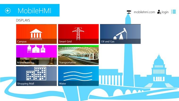 MobileHMI screen shot 0