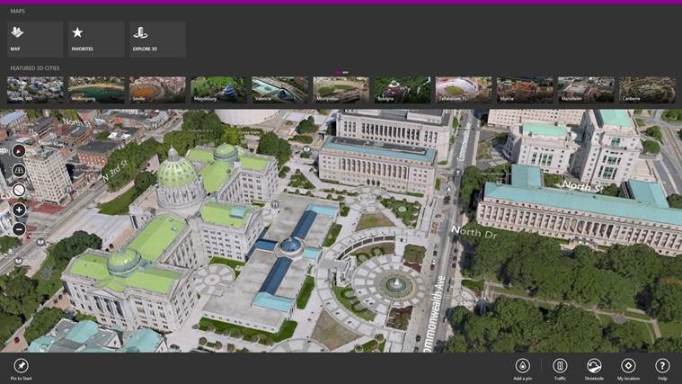 Bing Maps Preview screen shot 0