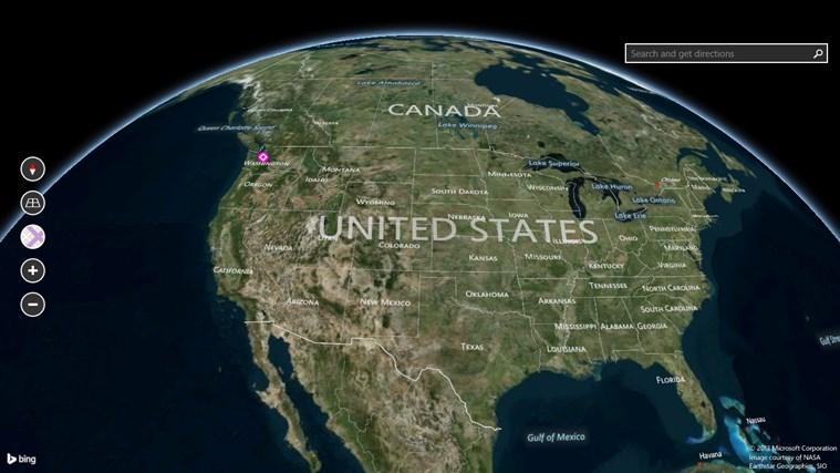 Bing Maps Preview screen shot 6