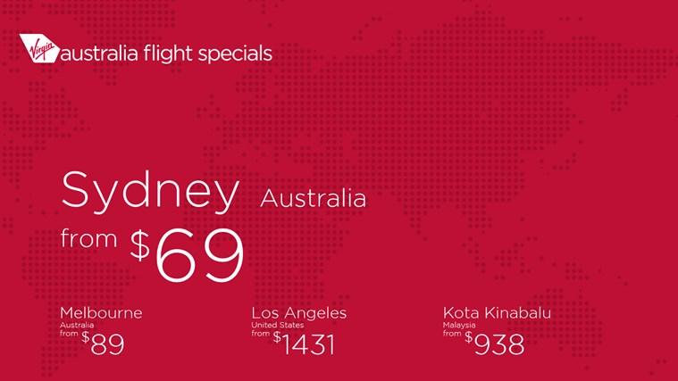 Flight Specials screen shot 0