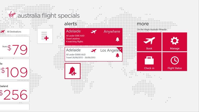 Flight Specials screen shot 4