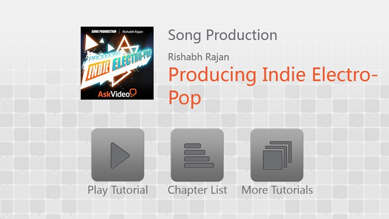 Song Production - Producing Indie Electro-Pop screenshot 0